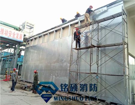 防爆墙厂家与南京实验室抗冲击测试项目