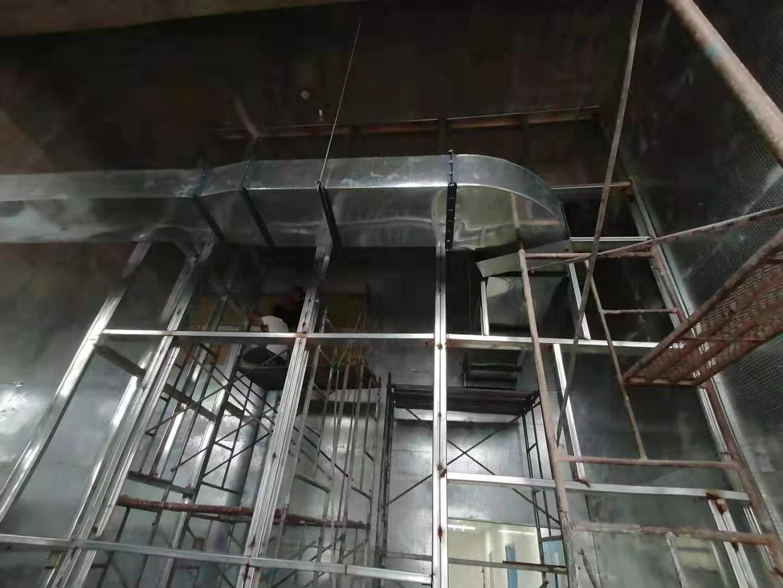 泄爆墙采用钢结构